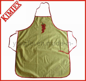 100% Cotton Kitchen Cooking Cheap Apron with Ties pictures & photos