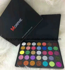 New Arrival Morphe 35 Color Glitter Powder Shimmy Powder Palette pictures & photos