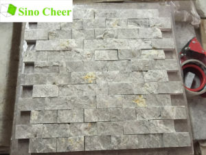 Low Price Split Face Mosaic Natural Stone Subway Tile pictures & photos