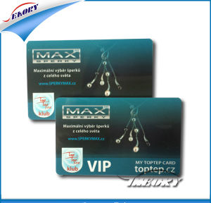 VIP Blank PVC Plastic Card (CR80) pictures & photos
