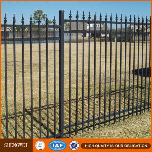 Decorative Commercial Black Color Steel Fencing pictures & photos