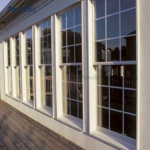 European Style Aluminum Vertical Sliding Window pictures & photos