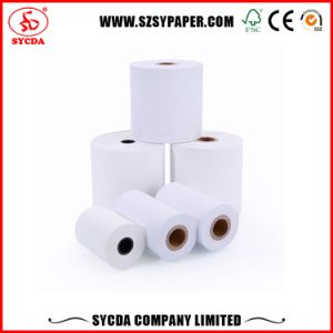 Waterproof 80X80 55GSM Tickets Thermal Printer Paper Rolls pictures & photos