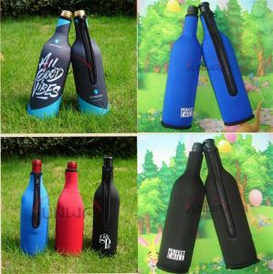 Custom Bottle Holder, Insulated Neoprene Wine Bottle Cooler (BC0006) pictures & photos