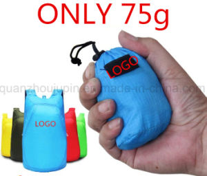 OEM Mini Portable Waterproof Polyester Camping Hiking Travel Backpack pictures & photos