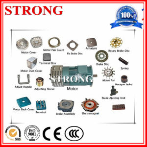Concentric Spiral Gear Worm Speed Reducer in Construction Hoist Motor pictures & photos