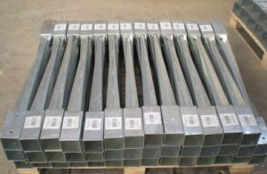 Hot DIP Galvanized Bolt Down Fence Post Ground Pole Anchor pictures & photos