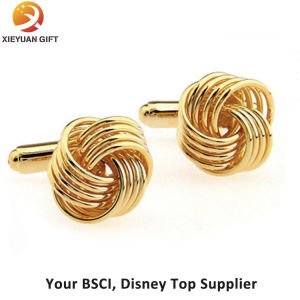 Gold Plating Cufflinks for Men pictures & photos