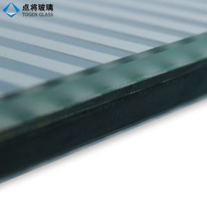 High Quality Colored Toughened Laminated Silk Screen Glass pictures & photos