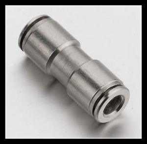 Push Fitting Elbow Connector Metric BSPP 6mm pictures & photos