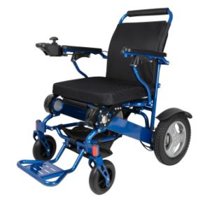 Lightweight Folding Power Wheelchair for Travel Use pictures & photos