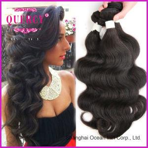 Brazilian Body Wave Hair Weave Bundles Lace Closure, Large Stock Grade 9A Virgin Brazilian Hair 3 Bundles pictures & photos