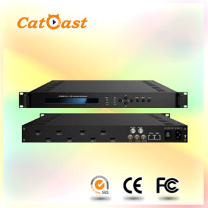 8 CH HDMI Input and Asi IP Output and RF H. 264/Avc Video Low Delay Encoder Modulator pictures & photos