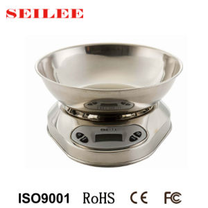 Stainless Steel Electronic Kitchen Scale Household Scale pictures & photos