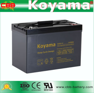 DC90-12 12V 90ah Deep Cycle Wholesale AGM Battery pictures & photos