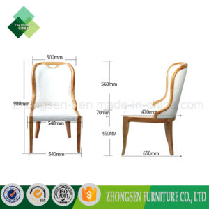 Janpanese Style Rubber Wood High Back Chair for Restaurant (ZSC-01) pictures & photos