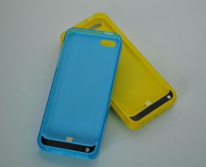 2200mAh External Battery Case for iPhone 5/5s/5c (OM-PW5SC) pictures & photos