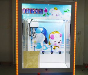 Arcade Coin Operated Mini Plush Toy Claw Crane Machine pictures & photos