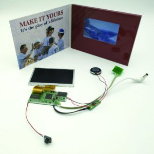 "4.3"", 7""Inch LCD Cards Advertising Player for Hot Sale pictures & photos"
