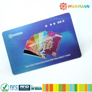 13.56MHz ISO14443B SRIX4K RFID smart card pictures & photos