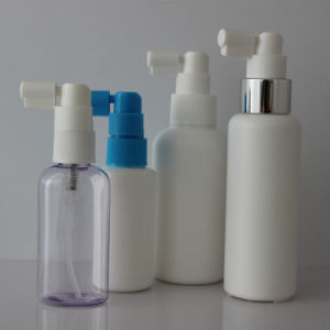 Plastic White Pharmaceutical Oral Sprayer with Short Tube pictures & photos