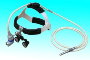 Surgical Medical Operating Light Headlamp with Magnifying Glass pictures & photos