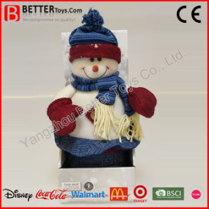 Christmas Stuffed Animal Plush Soft Toy Snowman for Kids pictures & photos