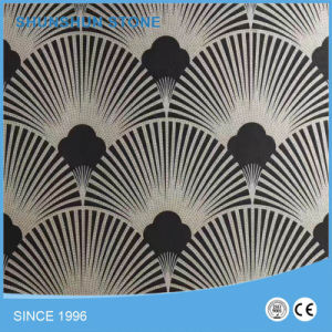 Polished Arabesque Lantern Carrara White Marble Mosaic Tile for Interior pictures & photos