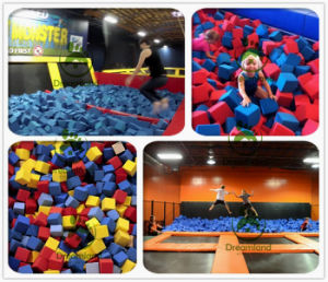 Soft Cubic Trampoline Foam Pit Blocks for Sale pictures & photos