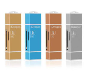 Idragon 3in1 USB Micro SD SDHC SD TF OTG Card Reader Exfat Writer for iPhone 5/5s/6/6s/7 Plus/iPad Air PRO Mini/ Android Phone pictures & photos