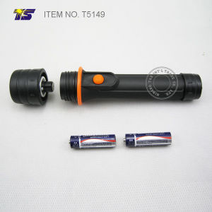 2AA Size Waterproof LED Flashlight (T5149) pictures & photos
