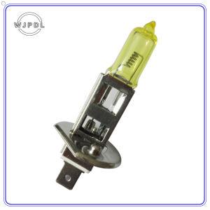 Headlight H1 Yellow Halogen Auto Lamp pictures & photos