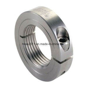 Precision Stainless Steel Threaded Shaft Collar or Fixing Collar pictures & photos