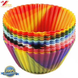 FDA Food Grade Silicone Cake Bakeware Mould, Mufflin Cup pictures & photos