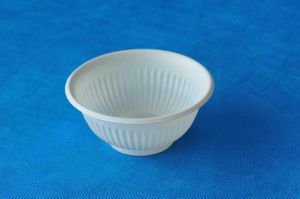 Disposable Biodegradable Corn Starch Bowl / Ice Cream Bowls