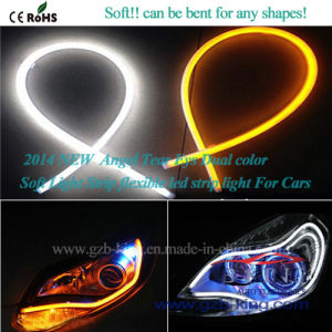 New Angle Tear Eyes Dual Color Soft Flexible LED Strip pictures & photos