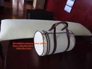 Shreddled Memory Foam Pillow (bamboo style) pictures & photos