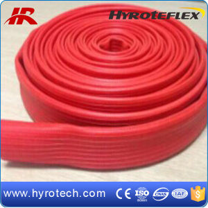 Rubber Covered Fire Hose, Durable Layflat Hose pictures & photos