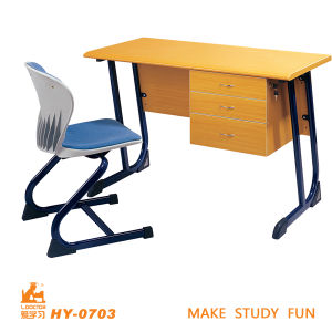 School Teacher Table with Chair of Educational Furniture pictures & photos