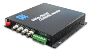 3onedata 4 Channel Optical Video Converter (SWV60400)