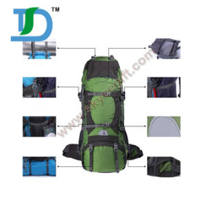 Outdoor Waterproof Nylon Leisure Travel Climbing Camping Sports Hiking Backpack pictures & photos