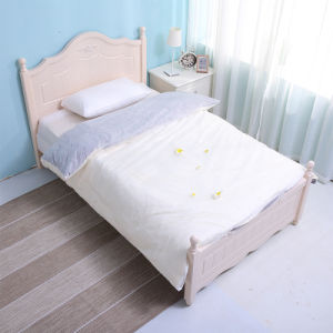 Home Textile Bedding Sets /Disposable Non-Woven Fabric Double Bed Sheet Set pictures & photos