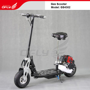 43CC CE Approved Foldable Gas Scooter GS4302 pictures & photos
