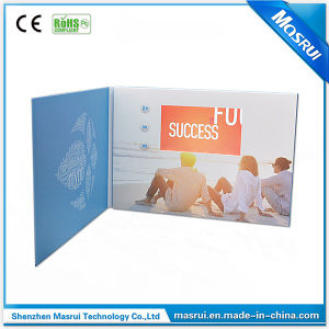 Special Design Video Brochure Video Card