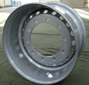 EU Standard Tubeless Truck Steel Wheel Rims (22.5x11.75) 49-50kgs pictures & photos