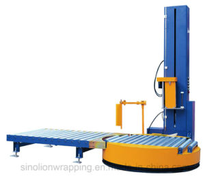 Automatic Online Turntable Wrapper - Stretch Film Packing Machinery pictures & photos