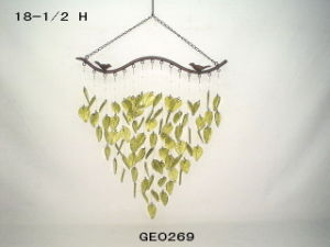 Wind Chime, Leave Craft, Staind Glass (GE0269)