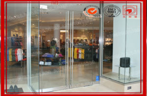 China Frame Less Storefront Glass Door Manufacturer pictures & photos