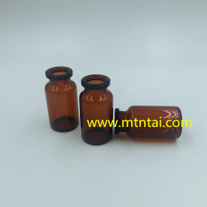 Dark Amber Color Tubular Glass Vials pictures & photos