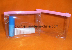 Small PVC Zipper Bag, Stand-up Cosmetic Bag pictures & photos